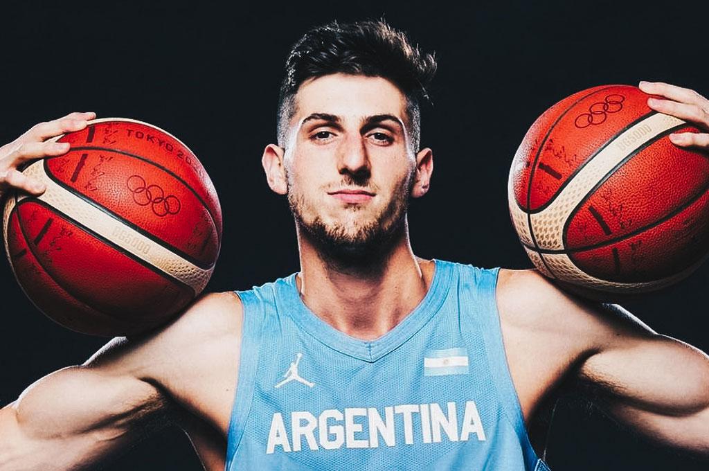 """Bolmaro y su llegada a la NBA: """"Es un sueño esto, estoy muy feliz"""" -"""