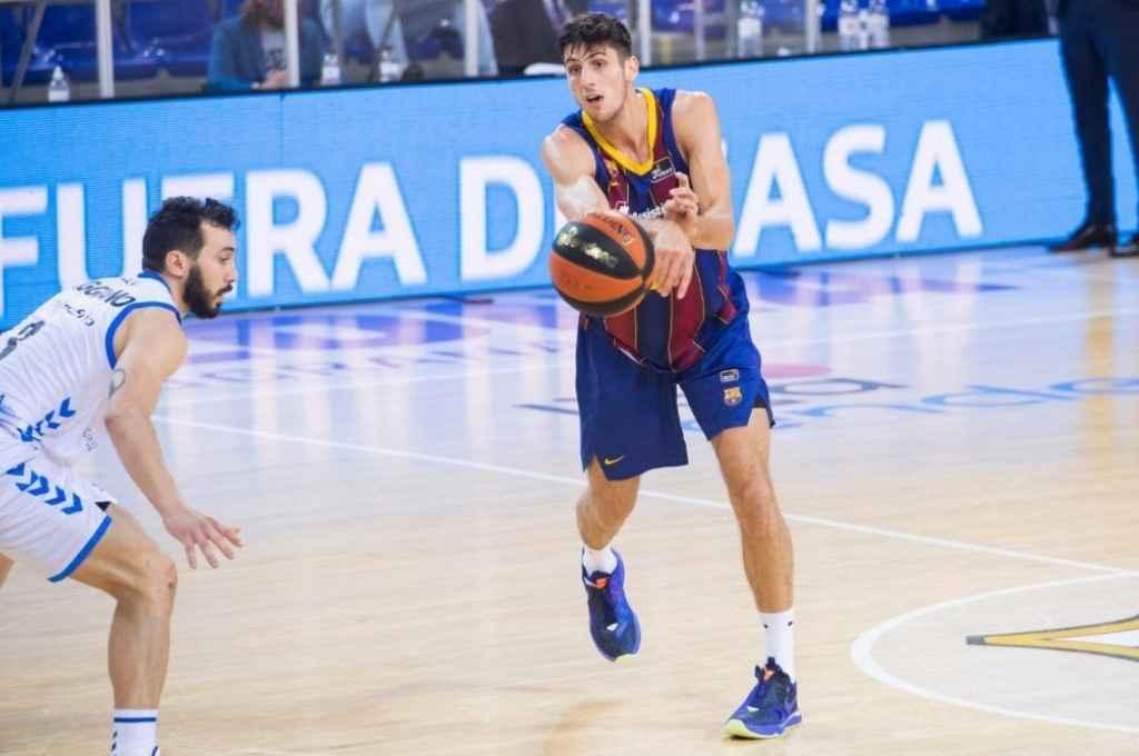 Leandro Bolmaro cuando aún era jugador del Barcelona. Crédito: Gentileza