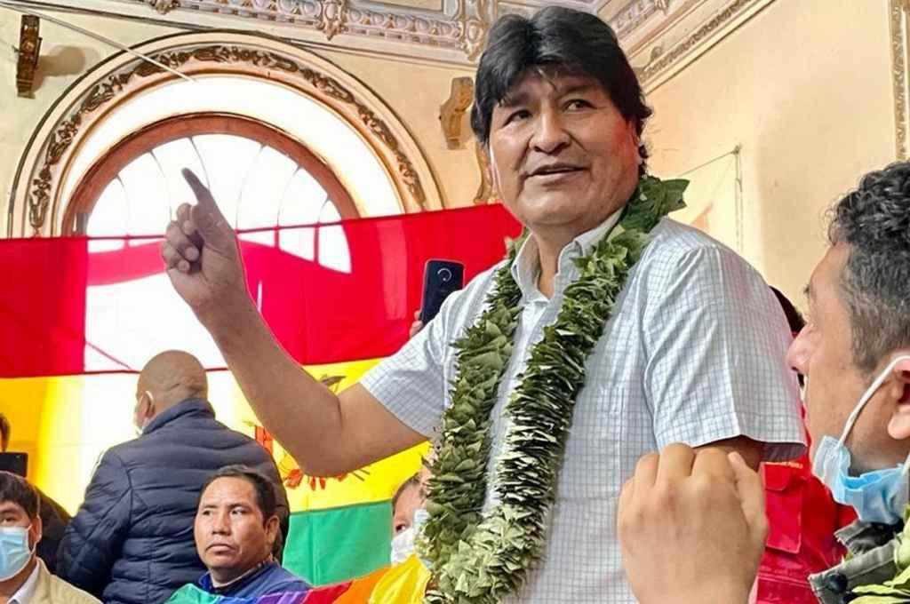 Evo Morales, ex presidente boliviano.