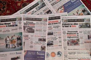 Desde que los talibanes tomaron el poder, no hay diarios en Kabul