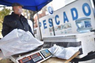 Venta de pescado de mar a precios populares en Santa Fe