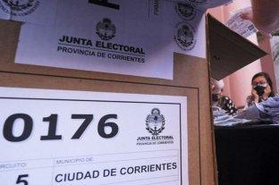 Terminó el escrutinio de las PASO en Corrientes -  -