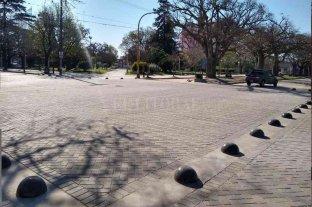 """Firmat habilitó la primera """"Zona Calma"""" para peatones"""