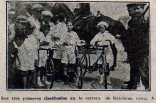 Una carrera infantil, una huella en niños santafesinos en el verano de 1927