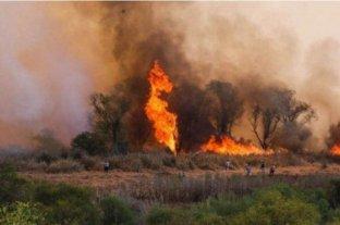 Se registraron focos activos de incendios en Córdoba, Entre Ríos y Santa Fe