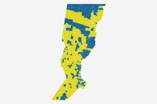 Mapa interactivo: ciudad por ciudad, cómo se votó a senadores y diputados en Santa Fe -