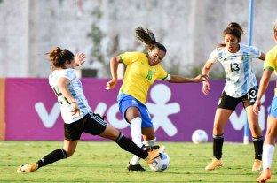 La Selección Argentina femenina cayó ante Brasil en su primer amistoso