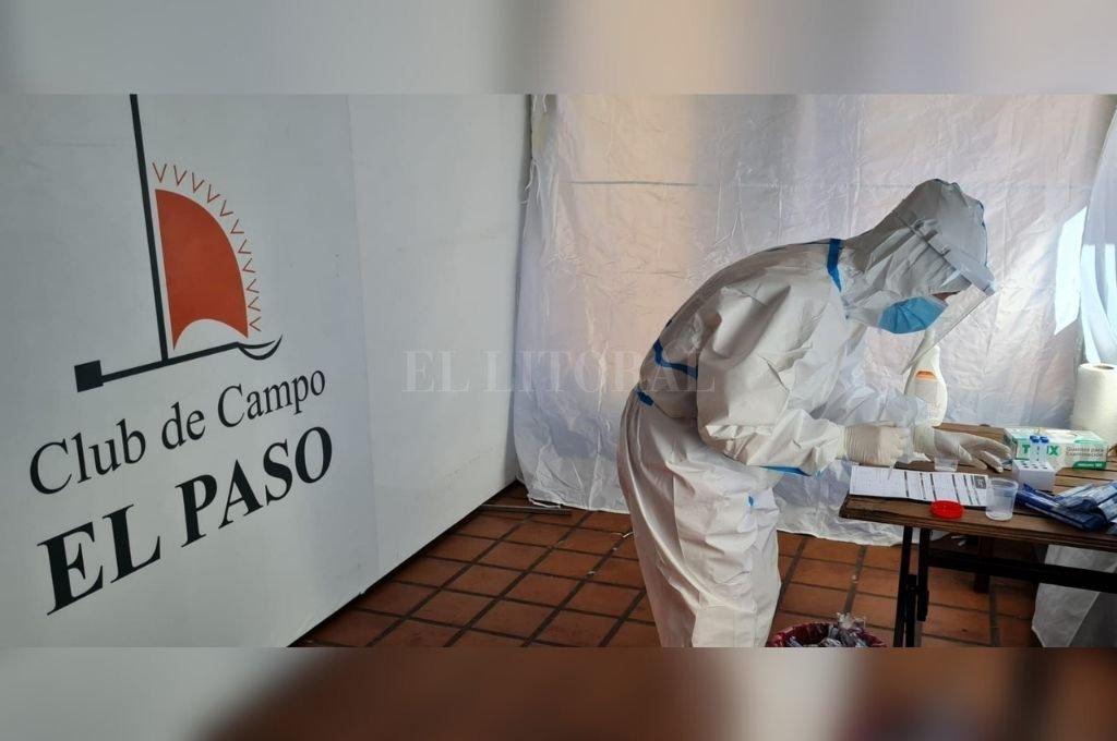 """Confirmado: son """"positivos"""" de la cepa Delta los 3 casos en el country El Paso -  -"""