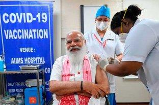 India alcanza un récord con más de 25 millones de vacunas administradas en un día