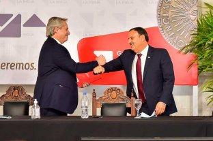 """Al gobernador de La Rioja le parece """"muy bien"""" el nuevo gabinete nacional"""
