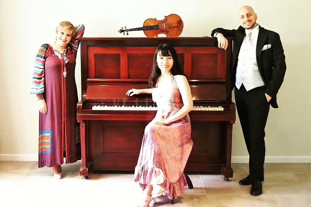 Robledo (soprano), Yoshimi (piano) y Dvoracek (viola) serán los protagonistas de la velada inaugural. Crédito: Gentileza de los artistas
