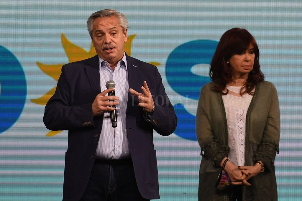 Alberto Fernández y Cristina Kirchner Crédito: Archivo