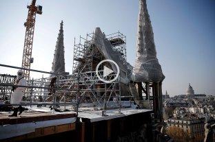 Concluyen los trabajos de consolidación de Notre Dame y dan paso a su restauración