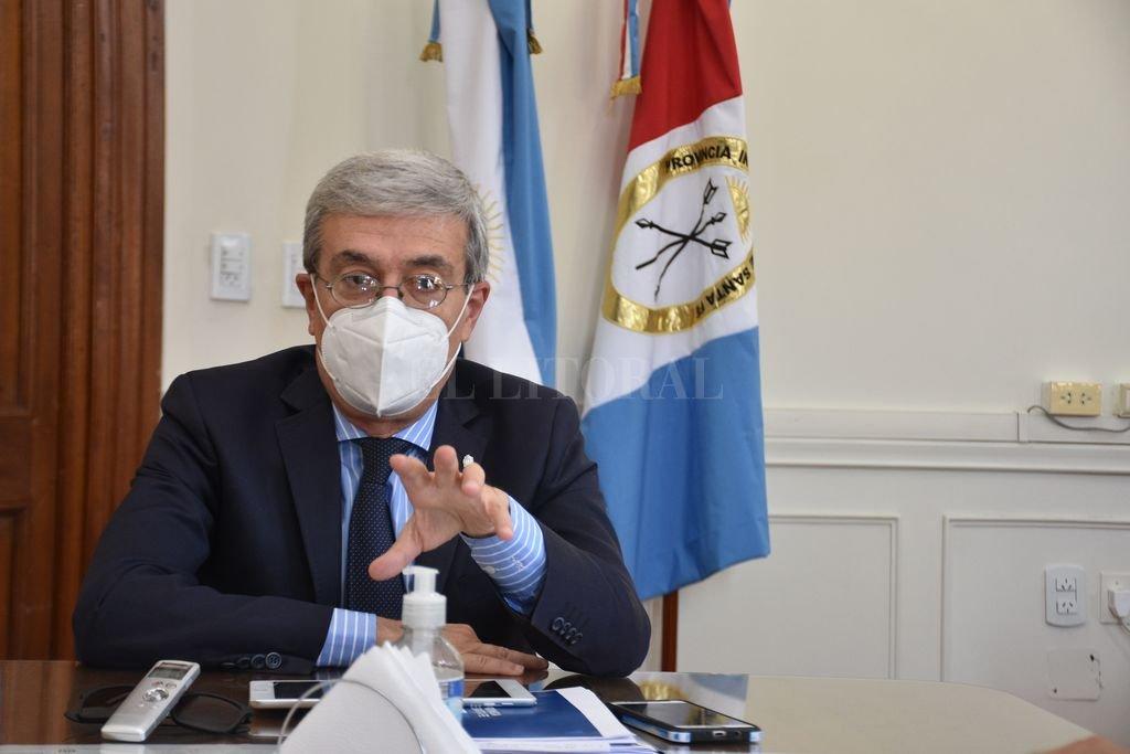 Agosto ya tiene definido los aspectos centrales del Presupuesto 2022 a enviar a Legislatura. Crédito: Flavio Raina