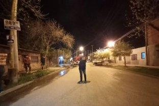 Tiroteo y muerte en barrio Roma - Investigadores y peritos criminalísticos trabajaron en la zona del incidente.