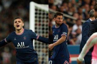 Icardi le dio el triunfo agónico al PSG: Messi fue reemplazado y mostró su fastidio