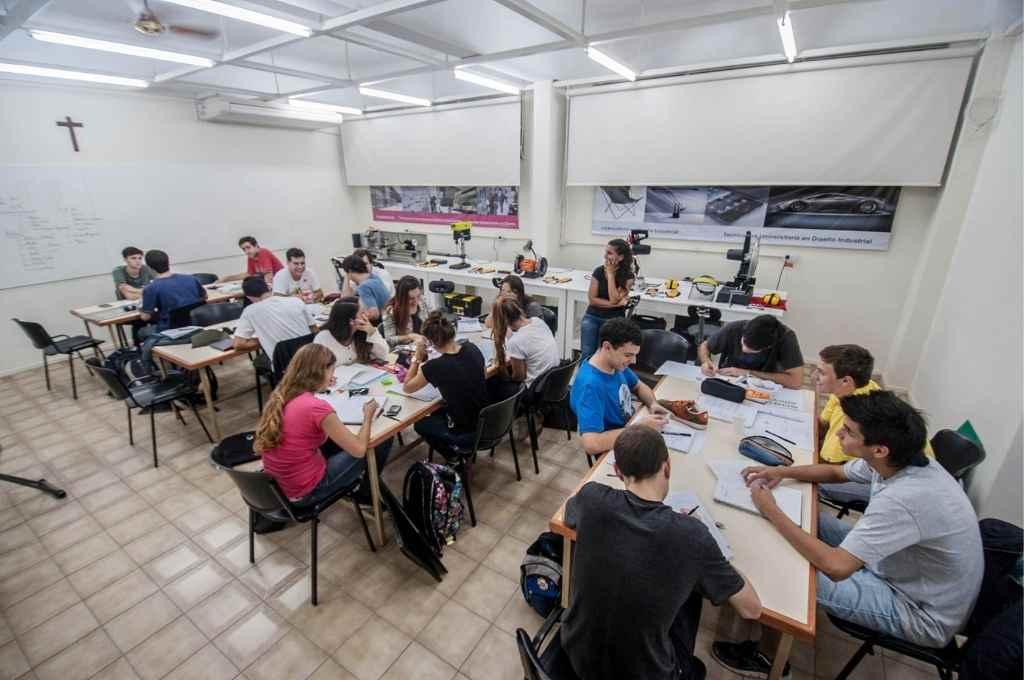 En la Sede Rosario de la Universidad Católica de Santa Fe, la carrera de Diseño Industrial está presente desde 2014.    Crédito: Gentileza