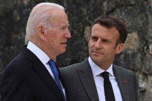 Macron y Biden retoman el diálogo por la crisis de los submarinos