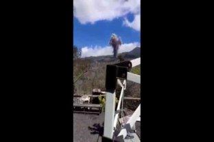 """""""Hay tiempo de comer"""": la reacción viral de un vecino ante la erupción del volcán en España"""