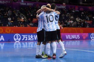 Mundial de Futsal: Argentina va por el primer puesto del grupo ante Irán