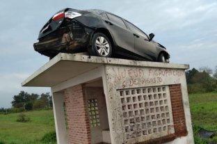 ¿En Entre Ríos los autos vuelan?: insólito accidente de tránsito -