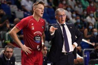 El santafesino Zurbriggen debutó en la liga española de básquet