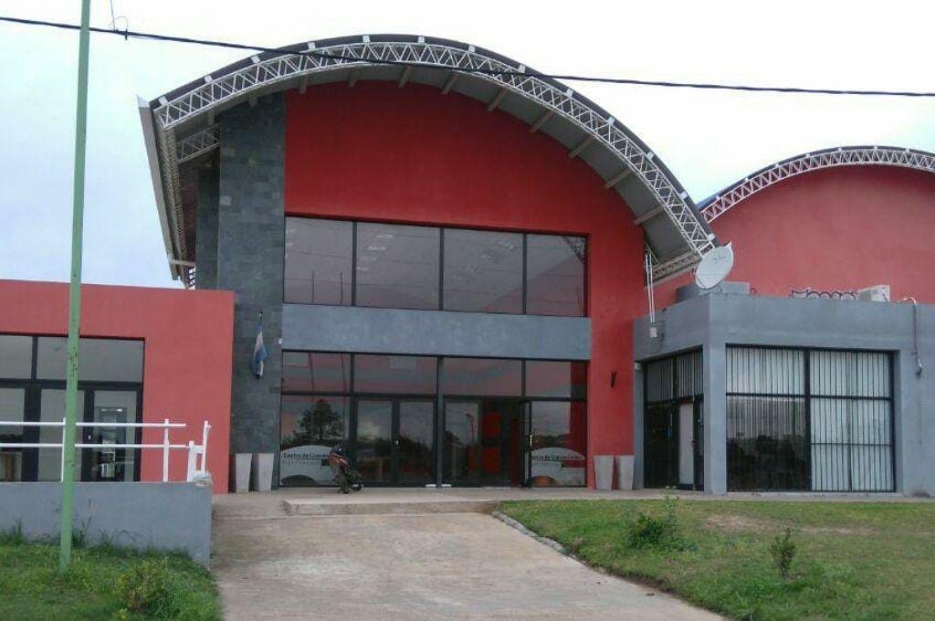 Centro de Convenciones de Villaguay donde se llevarán a cabo las audiencias. Crédito: Gentileza