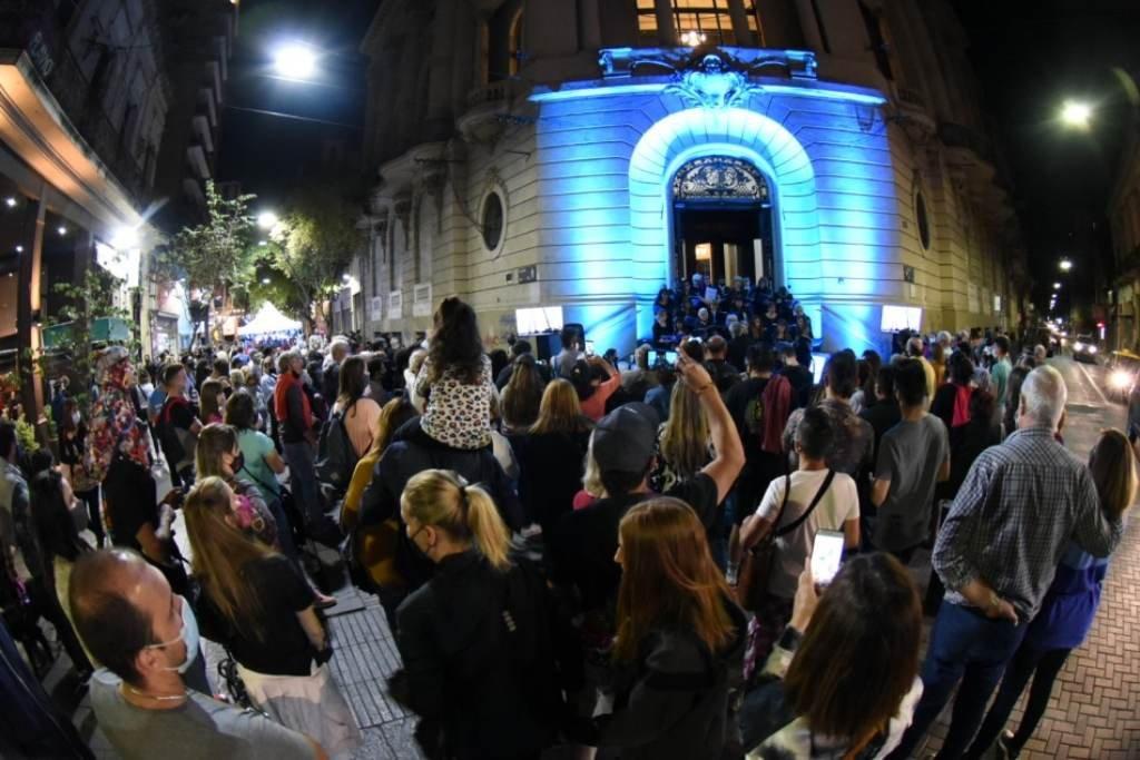 El sábado a la noche se realizó La Noche de las Peatonales. Foto:Gentileza: prensa Municipalidad de Rosario.