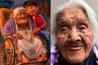 """La abuela mexicana en la que se inspiró a """"Mamá Coco"""" cumplió 108 años"""