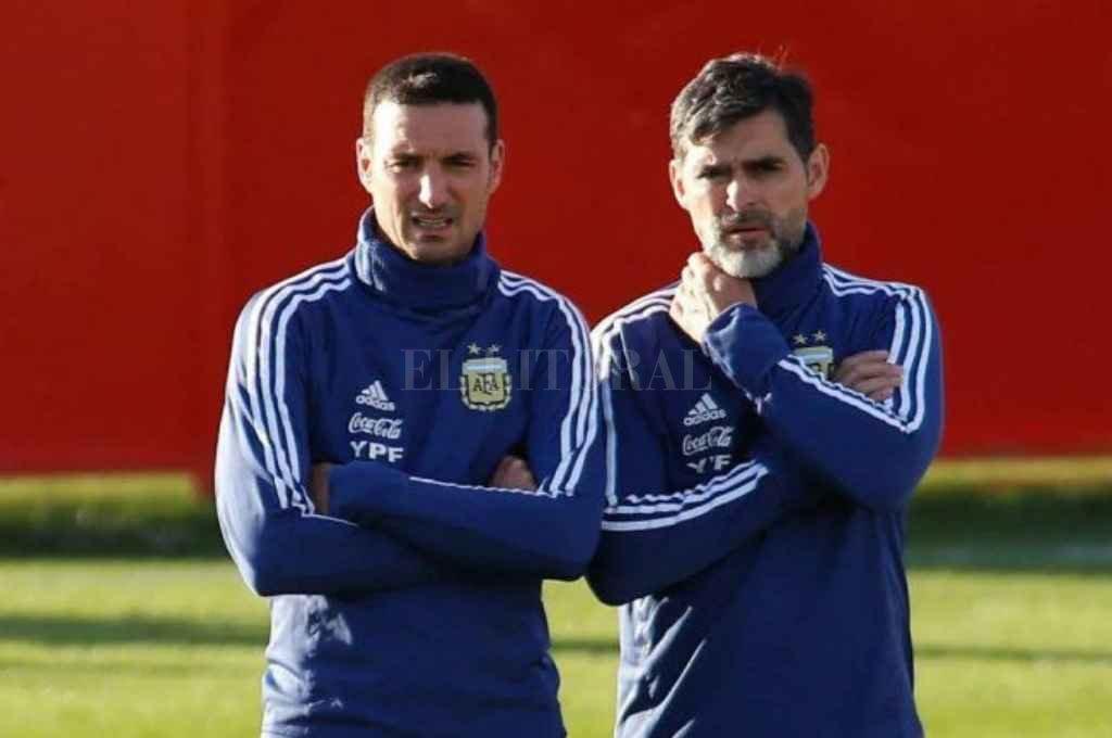 Roberto Ayala en la actualidad es ayudante de Lionel Scaloni en la Selección Argentina. Crédito: Gentileza