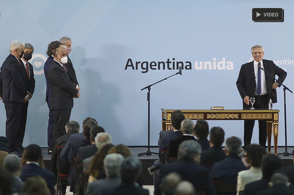 Juran los nuevos miembros del Gabinete de Alberto Fernández  -  -