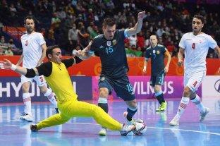 Mundial de Futsal: la Selección Argentina cerró la fase de grupos con otra victoria