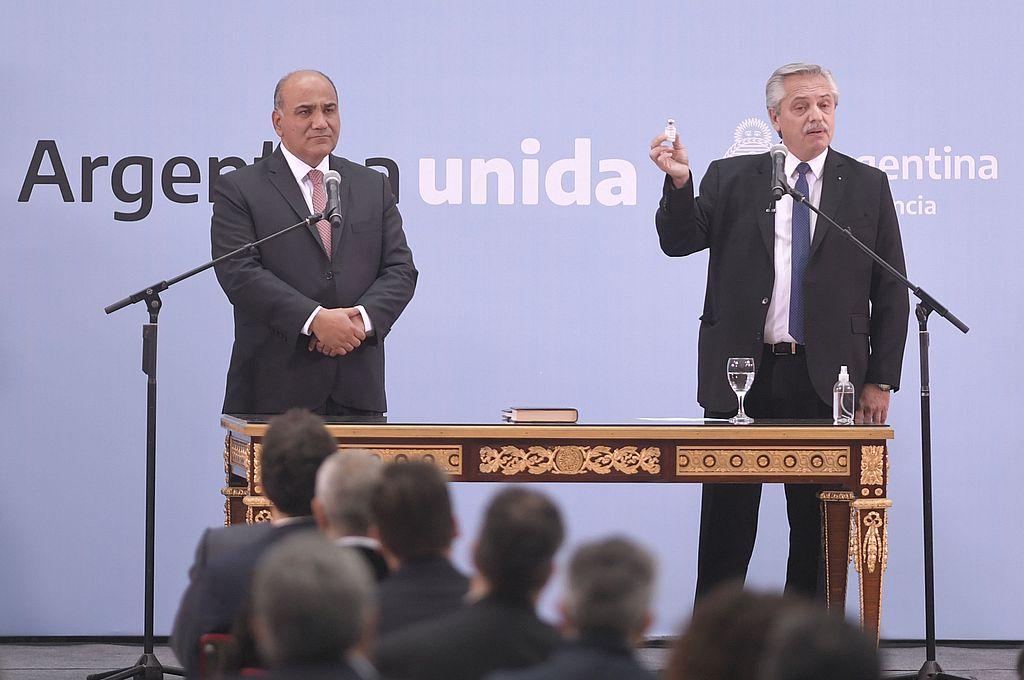 """Alberto Fernández habló de la crisis en el Gobierno: """"Los debates no me asustan"""" -  -"""