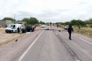 Santiago del Estero: cinco personas fallecieron en un choque frontal