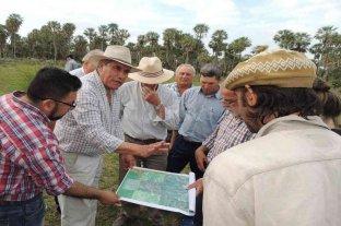 Productores recorrieron obras hídricas en los Bajos Submeridionales