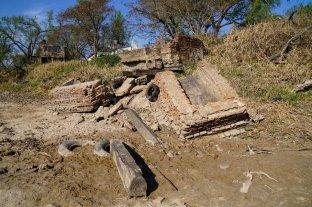 Piden que se preserven los restos del antiguo puerto de Colastiné Sur - Vestigios. Los restos yacen en la orilla del río que serpentea el delta desde la isla El Chapetón hasta regresar al Paraná, a la altura de Alto Verde.