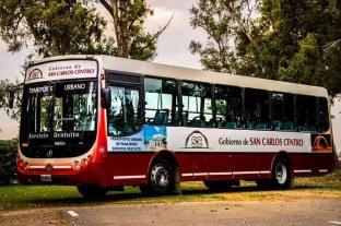 El transporte urbano de pasajeros vuelve a circular en San Carlos Centro
