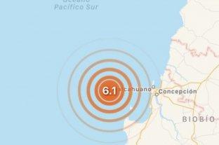 Sismo de magnitud 6,6 se registra en la región chilena del Biobío
