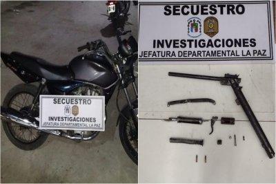 Motochorros, con raid delictivo en La Paz