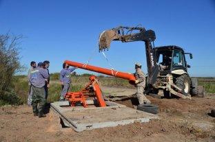 Sauce Viejo avanza con la construcción de una estación de bombeo -