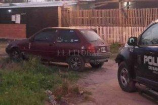 Persecución, fuga y secuestro de cocaína que terminó en condena - Los acusados escapaban en un Ford Fiesta bordó que quedó abandonado en Lavaisse y Pasaje Santa Fe, la madrugada del 11 de septiembre de 2020.