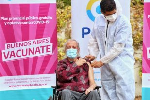 Buenos Aires anunció vacuna libre para los mayores de 50 años