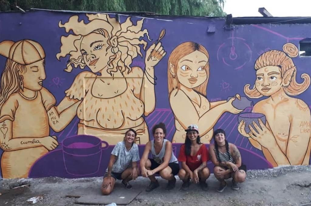 Arte público. Las paredes de Elortondo van a hablar a través de la cultura. Foto:Gentileza.
