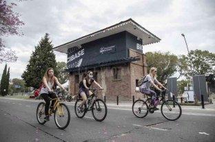 Rosario puso en marcha la primera BiciBase