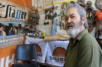 Falleció el reconocido artesano Hugo Da Silva, uno de los mentores de la Fiesta de la Artesanía