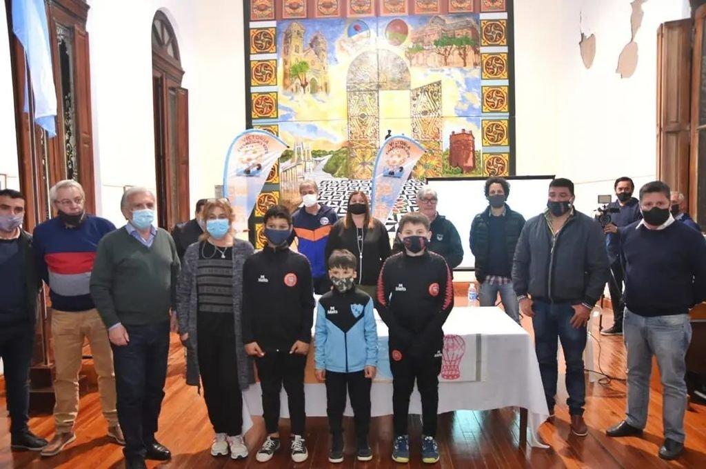 Presentación del torneo infantil que tendrá por sede a Victoria.