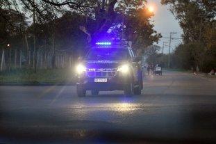 Dos detenidos y policías agredidos en Coronel Dorrego Apedrearon patrulleros