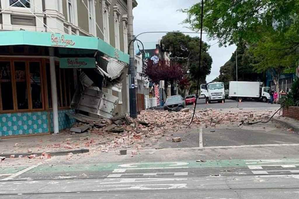 Se registró un sismo de 5.9 grados en el sudeste de Australia  -  -