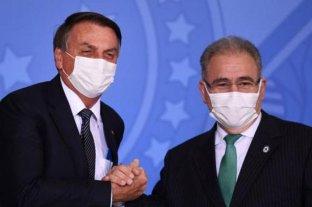 El ministro de Salud brasileño dio positivo de coronavirus