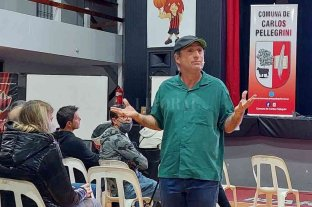 """Cachito"" Vigil en Carlos Pellegrini: ""la pandemia me permitió observar al mundo de otra manera"""